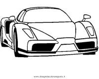 Immagini Da Colorare Di Ferrari Disegno Di Ferrari Enzo Da Colorare