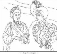 Disegno Caravaggio - buona ventura misti da colorare
