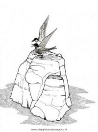 Disegno rocce_08 misti da colorare