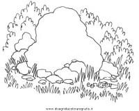 Disegno rocce_16 misti da colorare