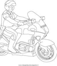 Disegno carabinieri_17 categoria persone da colorare