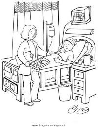 Disegno ospedale_03 categoria persone da colorare