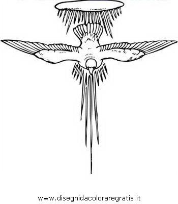 Disegno Spirito Santo 03 Categoria Religione Da Colorare