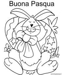 Disegni Buona Pasqua Da Colorare Disegno Di Uovo Buona Pasqua