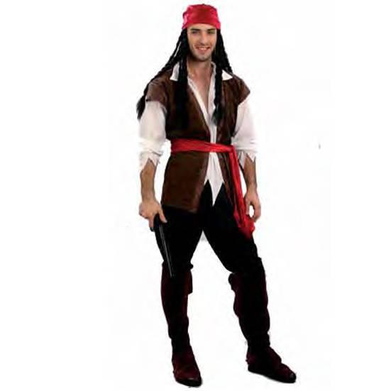 disfraz de pirata hombre bucanero