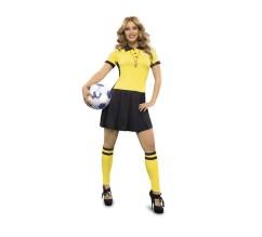 disfraz de arbitra futbol mujer