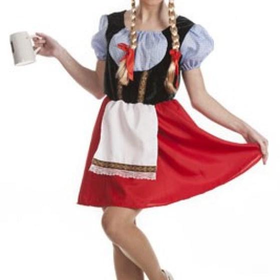 disfraz de tirolesa mujer para la fiesta de la cerveza
