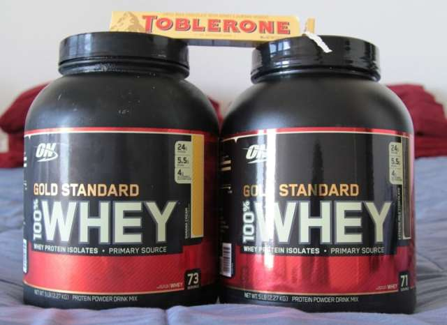Whey Protein Fitness Supplement