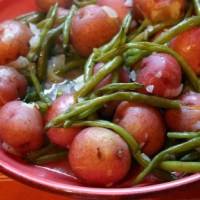Southern Country Green Beans and New Potatoes