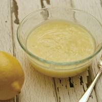 Sweet Lemon Cream Sauce