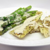 Simple Savory Lemon Cream Sauce