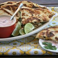 Turkey Quesadillas - Thanksgiving Leftover Recipe