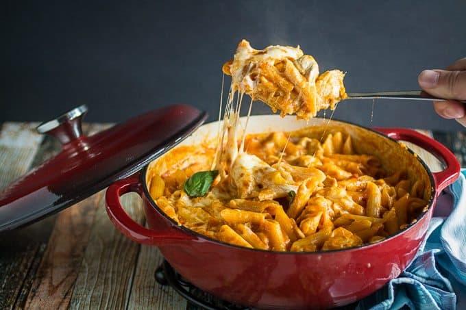 One Pot Chicken Parm & Pasta 2