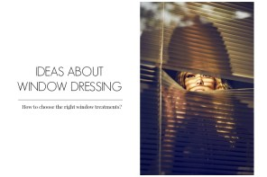 DC INTERIOR: IDEAS ABOUT WINDOW DRESSING