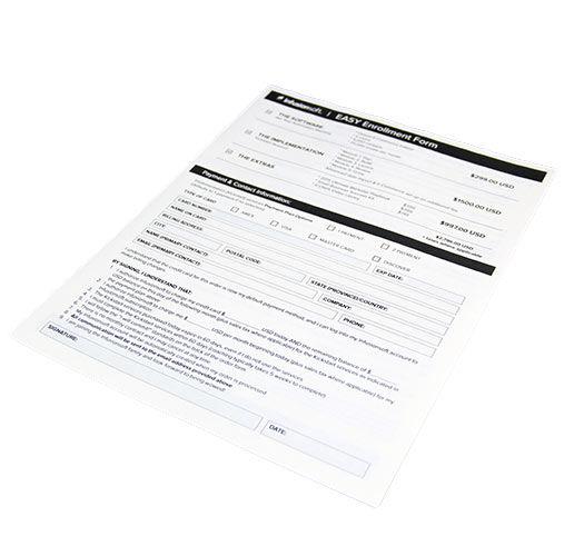 Event Order Form Order Forms For Events Disk - event order form