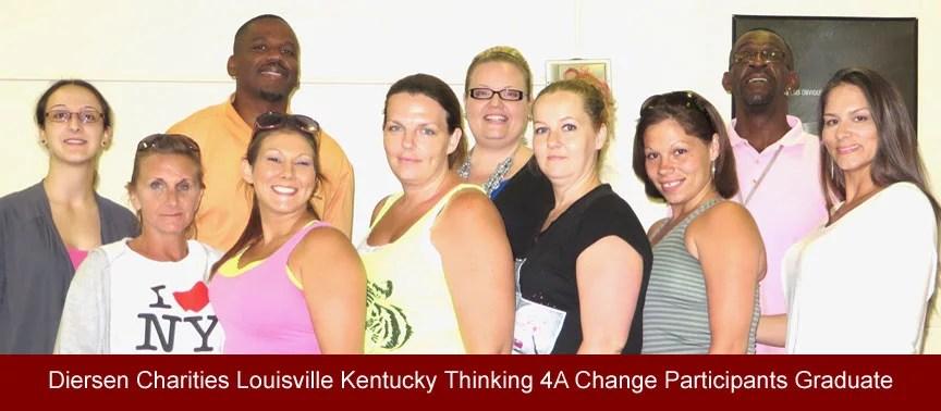 Diersen Charities Louisville Kentucky Thinking 4A Change Participants Graduate