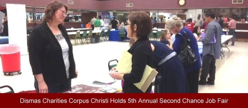 Dismas Charities Corpus Christi Holds 5th Annual Second Chance Job Fair