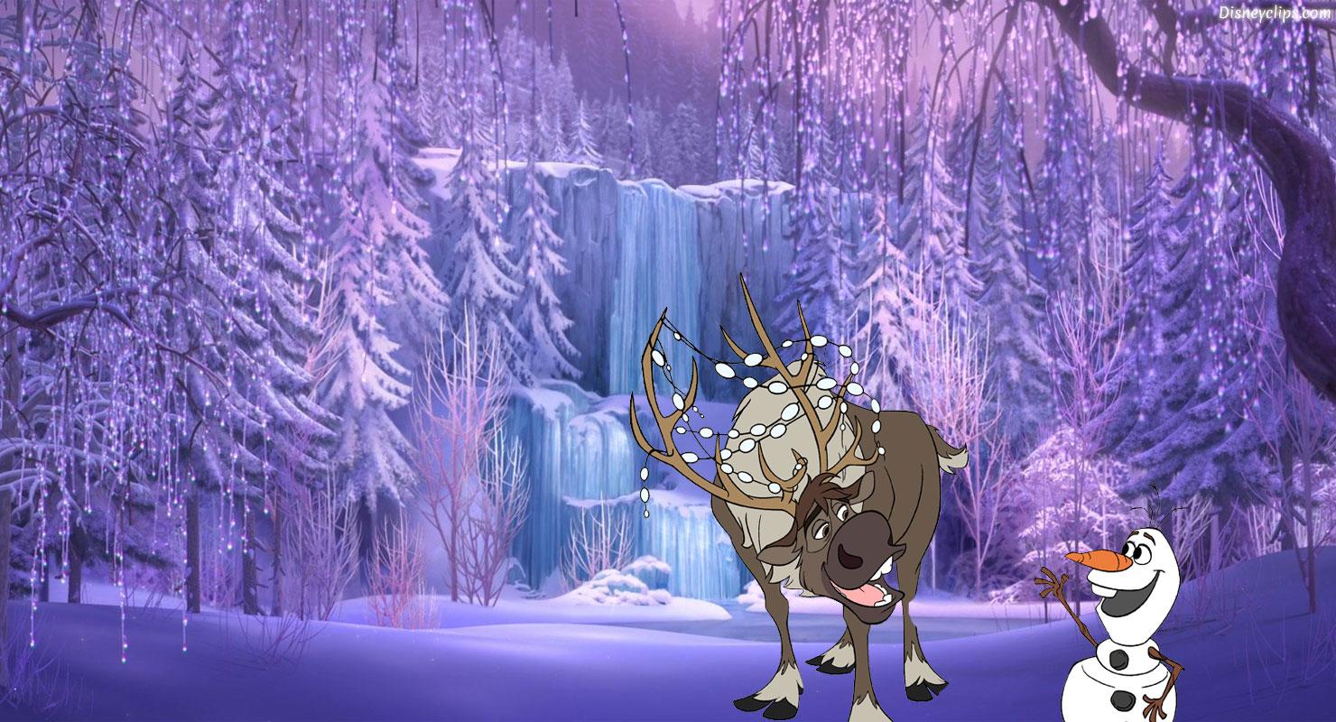 Animated Waterfall Wallpaper Frozen Wallpaper Disney S World Of Wonders