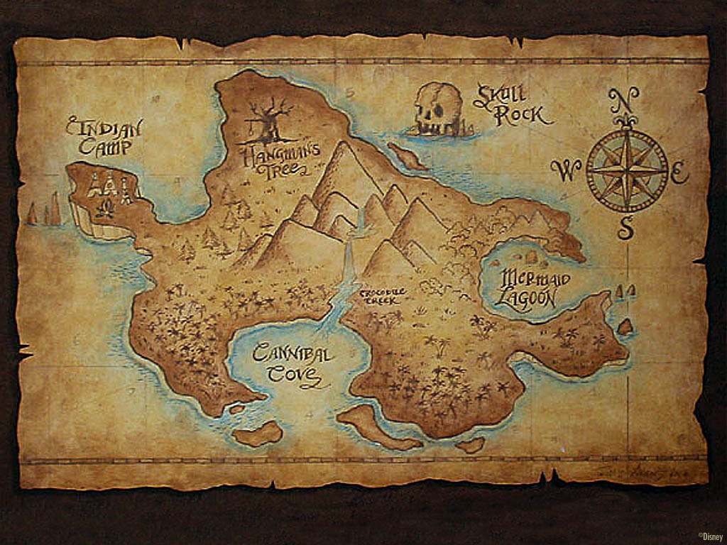 Zen Treasure Maps Page