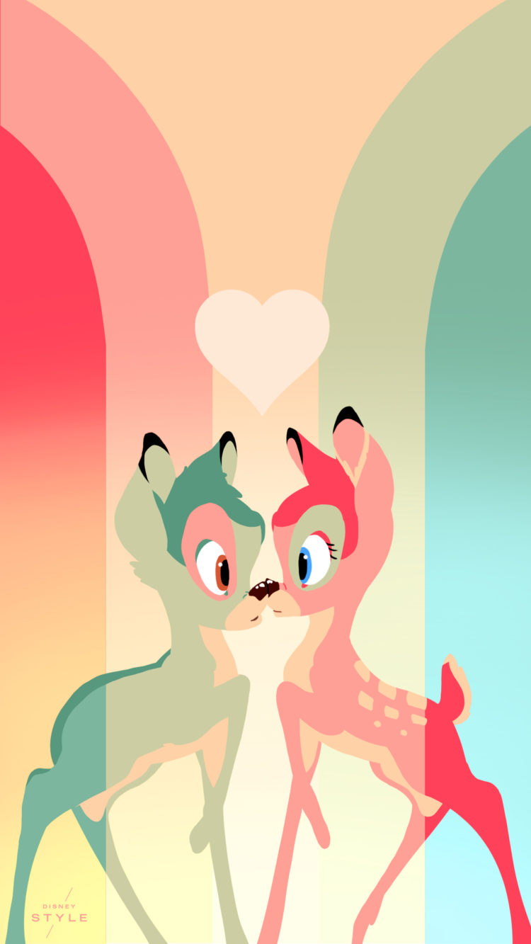 Cute Bow Iphone Wallpaper Brighten Up Your Phone Screen With These Bambi Inspired