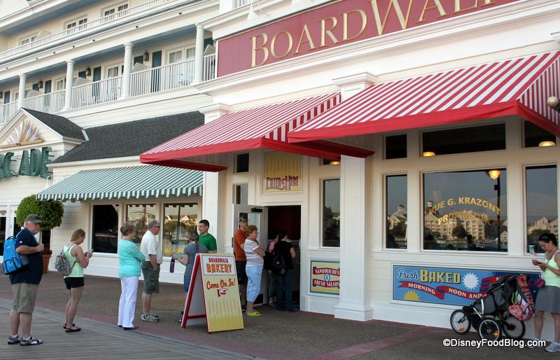 full review the new boardwalk bakery in walt disney world
