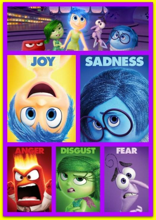 #PixarInsideOut Emotions