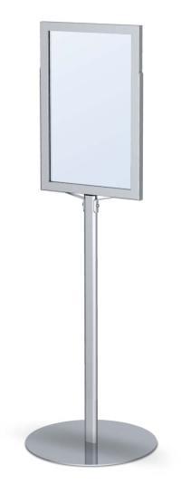 Monster Pedestal Sign Frame Stand | Floor Standing Sign ...