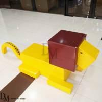 Exquisite Fiberglass Chair Animal Sculptured for Mall ...