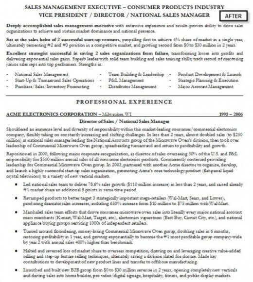 Professional Resume Writers Can Make to Your Resume and Career - professional accomplishments resume