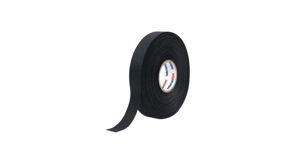 HTAPEPROTECT300 PET BK Wire Harness Tape Black 19mm x 25m