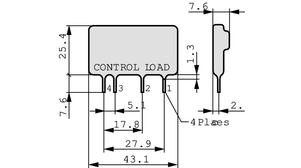 solid state relay price list