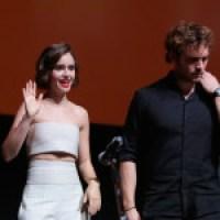 Sam Claflin e Josh Hutcherson al Festival Internazionale del Film di Roma