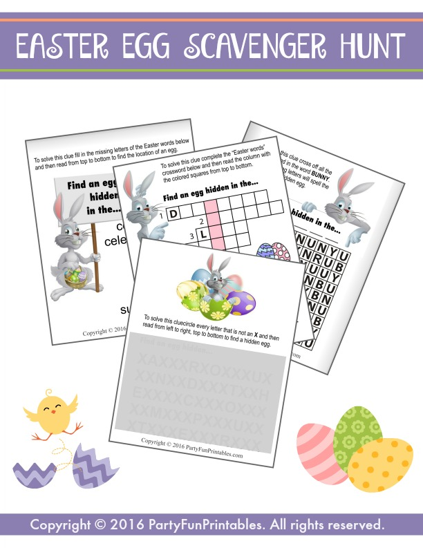 100+ Scavenger Hunts with Fun Printable List Ideas