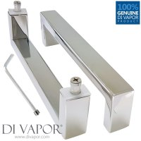 175mm Shower Door Handles (17.5cm Hole to Hole ...