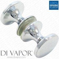 Shower Door Knobs Chrome