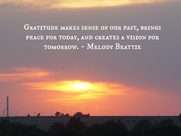 Gratitude in times of worry