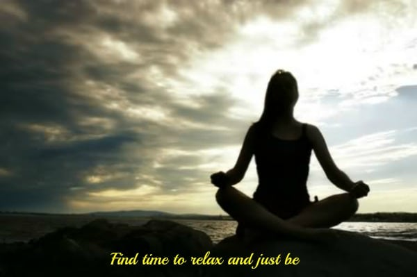 Find time to relax and just be #EmbraceTheDivatude
