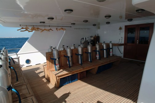 Tauchdeck|Blue Planet Liveaboards