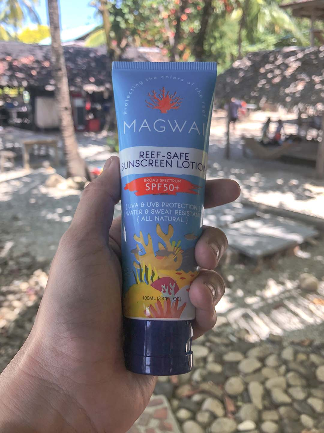 Magwai Reef-Safe Sunscreen在菲律宾制造