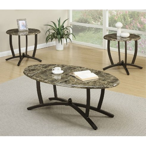 10 Stylish 3 Piece Living Room Table Sets Under $250 - 3 piece living room table set
