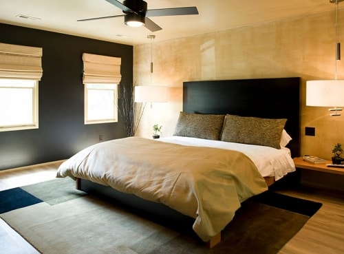 Luxurious Look With Black Gold Bedroom Decorating Ideas   Gold Bedroom Ideas