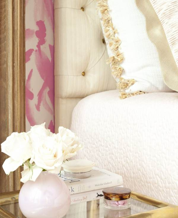 Wallpaper Teenage Girl Bedroom Chic And Glam With Pink White And Gold Bedroom Ideas Amp Tips