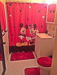 10+ Catchy and Inviting Minnie Mouse Bathroom Set Ideas