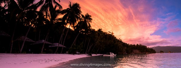 Triton Bay Dive Resort Sunset