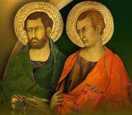 Resultado de imagen de Judas Tadeo y Simón el Zelote