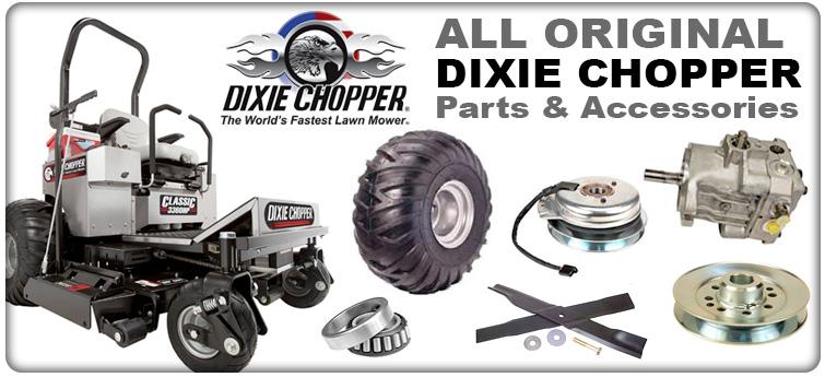 Welcome to Dixie Chopper Parts Distributors - Genuine Dixie Parts
