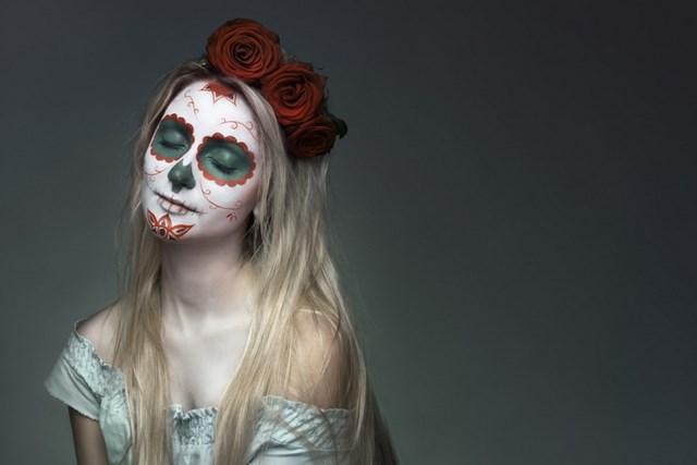 Pretty Dead Girl Wallpaper 12 Halloween Sugar Skull Makeup Ideas For Women