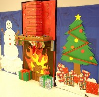 Christmas door decorations  ideas for the front and ...