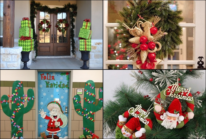 Christmas Decorations For Interior Doors