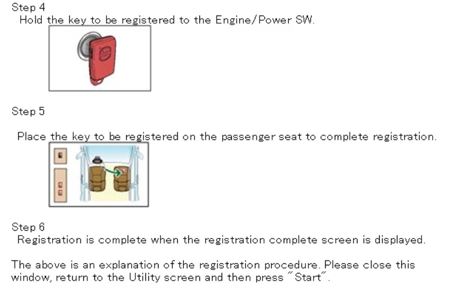 Smart key fob programming instructions for any Toyota, Lexus or Scion